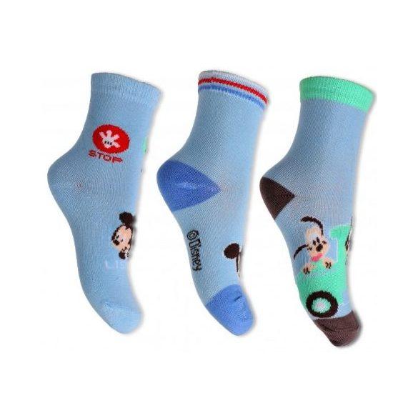 Disney Mickey baba zokni szett 3 pár/szett