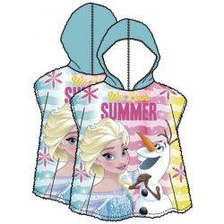 Disney Frozen, Jégvarázs strand törölköző poncsó 58*118 cm