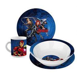 Marvel Avengers 3 részes porcelán étkészlet