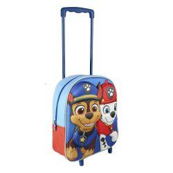 Paw Patrol, Mancs őrjárat gurulós táska 3D Marshall és Chase