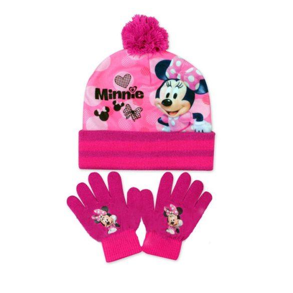 Gyerek sapka + kesztyű Disney Minnie